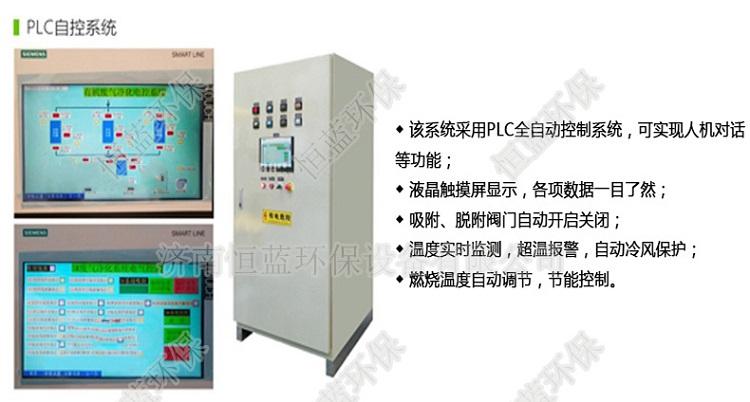 活性炭吸附催化燃烧控制系统