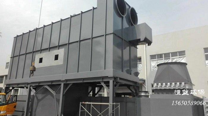 4万风量蓄热式催化燃烧设备