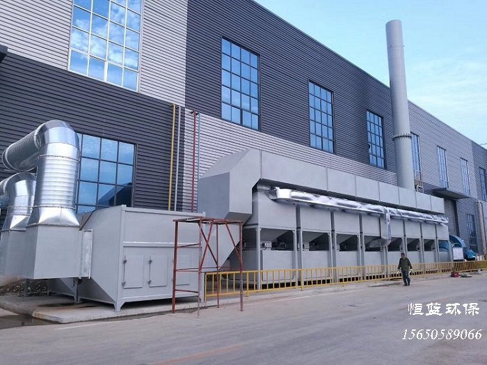 10万风量rco催化燃烧设备